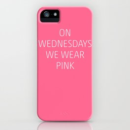 Mean Girls #8 – Pink iPhone Case