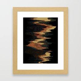brick_road Framed Art Print