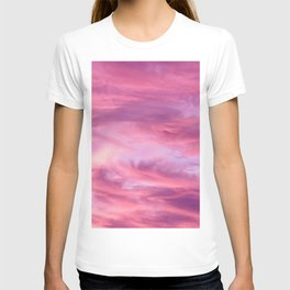 Pink Lavender Clouds T-shirt