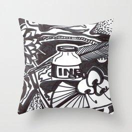Food writer Throw Pillow
