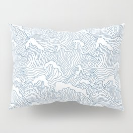 Japanese Wave Pillow Sham
