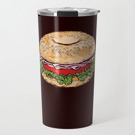 Bagel Sandwich Travel Mug