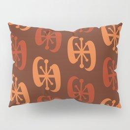 Starburst Bell Peppers Orange Pillow Sham