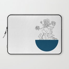 VESSEL - Floral Ink in Peacock - Cooper and Colleen Laptop Sleeve