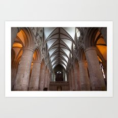 Gloucester Cathedral I Art Print