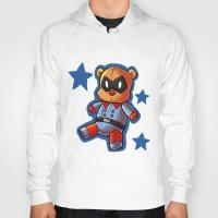 bucky Hoodies featuring bucky!bear by zombietonbo