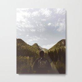 His Journey (Color) Metal Print