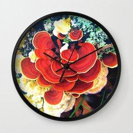 Mycology Wall Clock