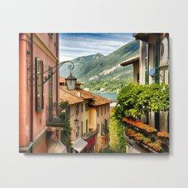Bellagio on Lake Como Metal Print