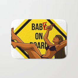 Baby - Babe on board Bath Mat