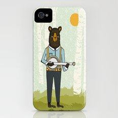 Bear's Bourree - Bear Playing Banjo Slim Case iPhone (4, 4s)