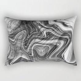 Liquid Marble Rectangular Pillow