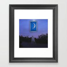 La Luna Framed Art Print
