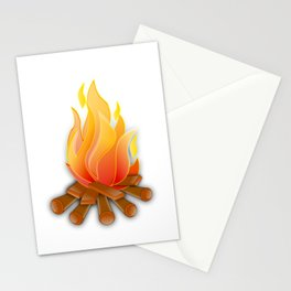 Camping But Not Happy About It Hate To Camp Stationery Cards