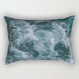 OCEAN - WAVES - SEA - WATER Rectangular Pillow