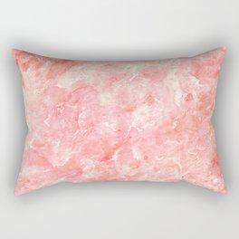 Art Deco Pink Rectangular Pillow
