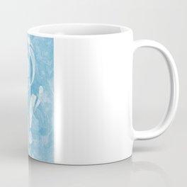 Smitten with the Mitten (Blue Version) Coffee Mug