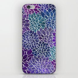 Floral Abstract 22 iPhone Skin