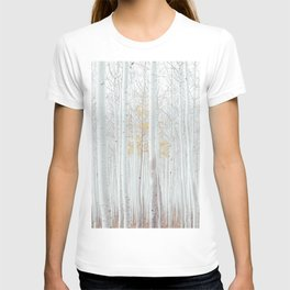 White tree forest T-shirt