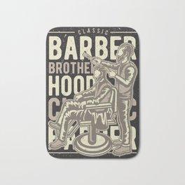 Barber Brotherhood Bath Mat