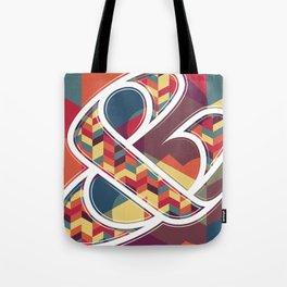 Chevron Ampersand Tote Bag