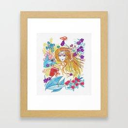 Fiesta de Bichos Framed Art Print