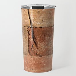 Ancient Sandstone Wall Travel Mug