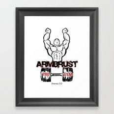 ARM BRUST PRO GYM Framed Art Print