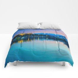 Port Vauban Antibes Comforters