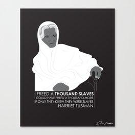 Tubman 1000 Canvas Print