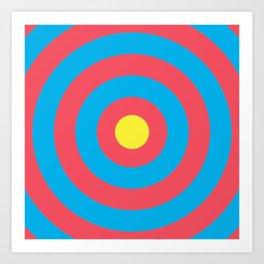 Target (Archery Design) Art Print