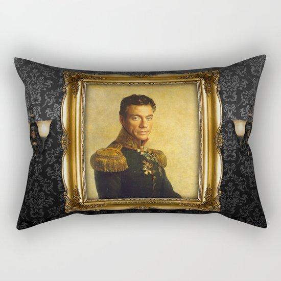 Jean Claude Van Damme - replaceface Rectangular Pillow