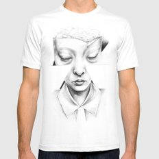 in heaven everything is fine Mens Fitted Tee MEDIUM White