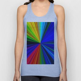 Colours of a Rainbow Unisex Tank Top