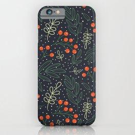 Festive Botanicals iPhone Case