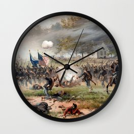 The Battle of Antietam Wall Clock