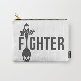 I Am A Fighter Carry-All Pouch