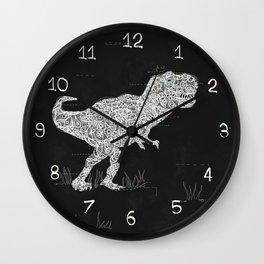 Lace Rex Wall Clock