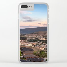 Vernon Cityscape 02 Clear iPhone Case