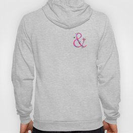 Ampersand - Pink Splatter Hoody
