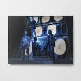 Doctor Who and the Tomb of the Cybermen (2) - Action Figures Metal Print