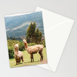 Llama Party Stationery Cards