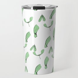 Green Maple Keys Travel Mug