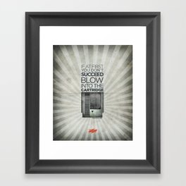 Life Tip #101 Framed Art Print