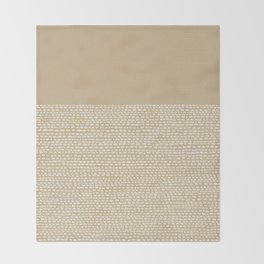 Riverside - Sand Throw Blanket