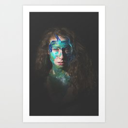 Colors of Women, B.L. Art Print