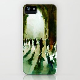 without an end or a beginning  iPhone Case