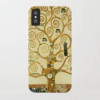 gustav klimt iPhone & iPod Cases featuring Gustav Klimt The Tree Of Life  by Art Gallery