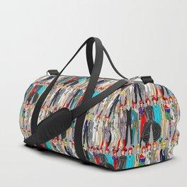 Rock Stars Heroes LV Gray Duffle Bag