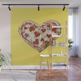 Pizza loves me back Wall Mural